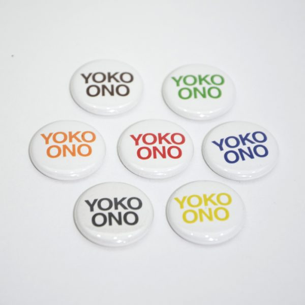 Day 10: Yoko Ono Buttons