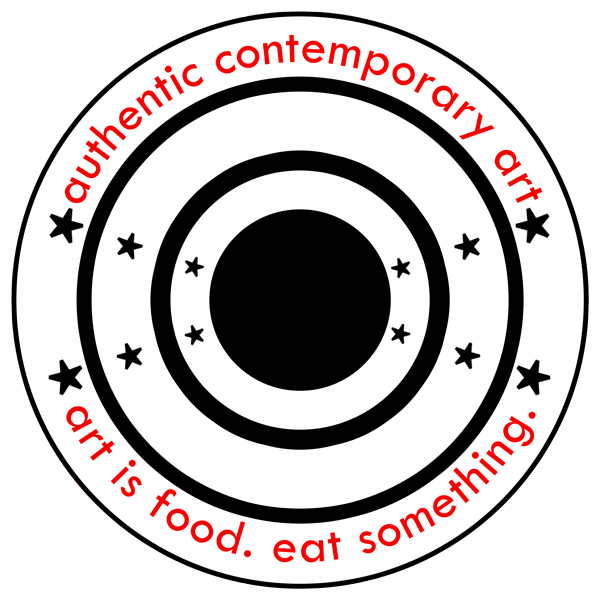 Authentic Contemporary Art Logo