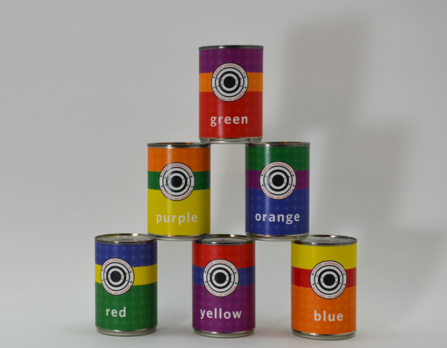 Six Cans of Authentic Contemporary Art