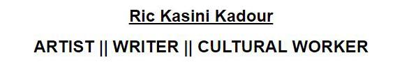 Ric Kasini Kadour