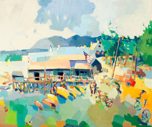 Lunch: Paintings of Henry Isaacs and Craig Mooney